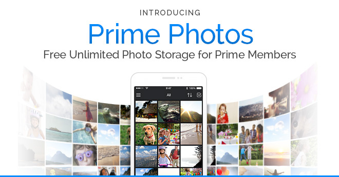 Amazon Prime Free Photo Storage