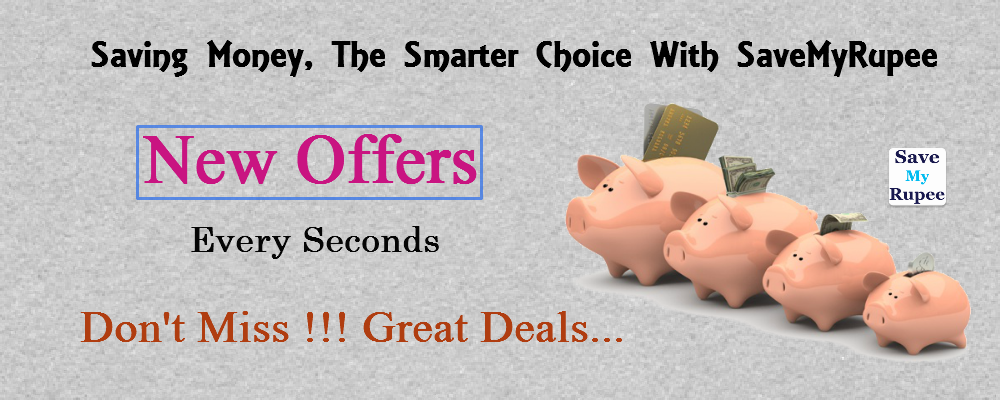Savemyrupee online shopping offers and coupons