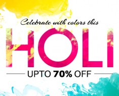 Holi Offers and Deals 2016